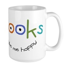 Books Make Me Happy Mugs