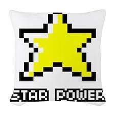 Star-Power Woven Throw Pillow