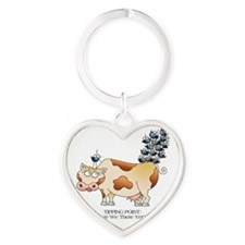 TIPPING POINT by April McCallum Heart Keychain