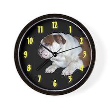 home bulldog gifts Wall Clock