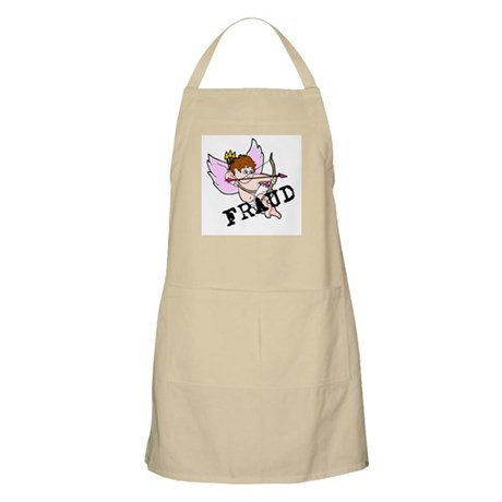 Cupid is a FRAUD! BBQ Apron