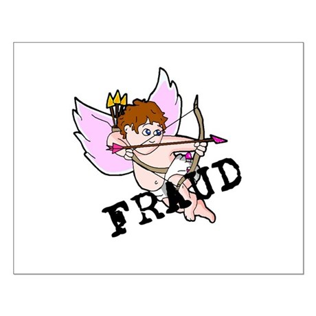 Cupid is a FRAUD! Small Poster