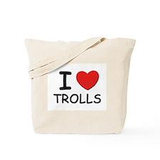 I love trolls Tote Bag