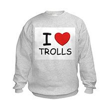 I love trolls Sweatshirt