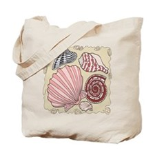 Colorful Seashells Tote Bag
