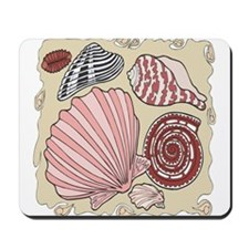 Colorful Seashells Mousepad