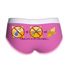 NoScissorsNoGlue10x3 Women's Boy Brief