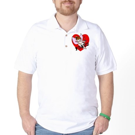 Cupid is a FRAUD! Golf Shirt