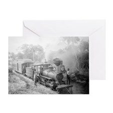 Jupiter and Lake Worth Railroad Greeting Card