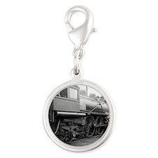 Michigan Central Railroad Silver Round Charm