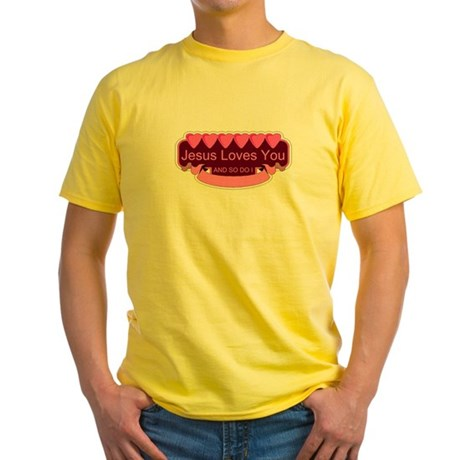 Jesus Loves You Yellow T-Shirt