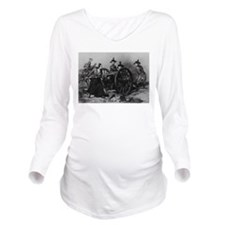 molly pitcher Long Sleeve Maternity T-Shirt