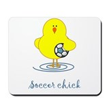 Soccer Chicks Mousepad