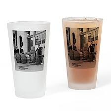 Bootleg Liquor Raid Drinking Glass