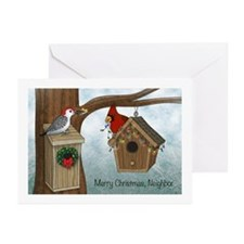 Merry Xmas Neighbor Greeting Cards (Pk Of 20)
