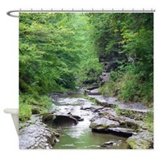 Forest River Scenery Shower Curtain