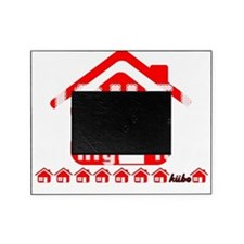 House Music all night long on black Picture Frame