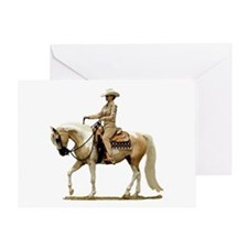 Half Arabian Western Pleasure Greeting Cards