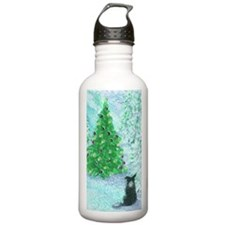 When Christmas trees w Water Bottle