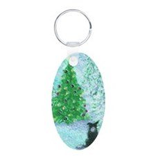 When Christmas trees were t Keychains
