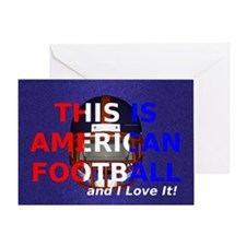 amfootball1a Greeting Card