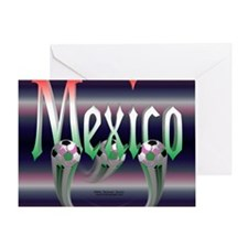 MexicoTriMpad Greeting Card