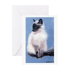 Balinese Cat Greeting Cards