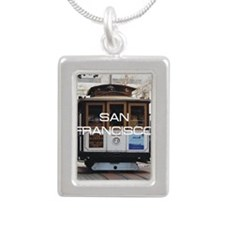 sanfranciscosq Silver Portrait Necklace