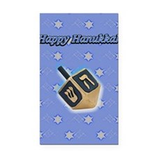 hanukkah3 Rectangle Car Magnet