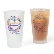 Smart Women Read Romance Drinking Glass
