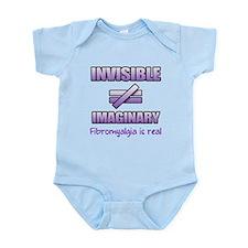Fibromyalgia Is Not Imaginary Infant Bodysuit