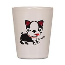 Choopie - Boston Terrier Puppy Shot Glass