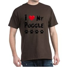 I-Love-My-Puggle T-Shirt