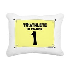 triathlete_train Rectangular Canvas Pillow