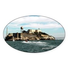 Alcatraz 'The Rock' Oval Decal