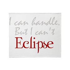 Eclipseblack Throw Blanket