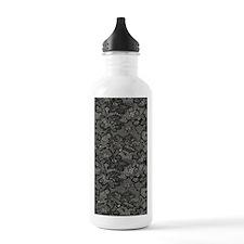 Black Lace Journal Water Bottle