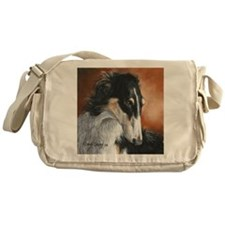 Borzoi # 2 Messenger Bag
