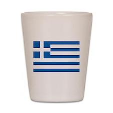 Greece Shot Glass