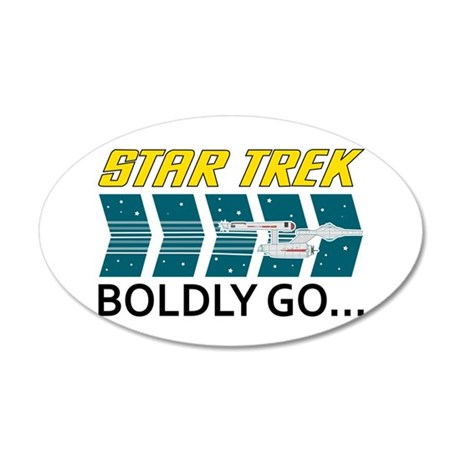 Boldly Go Wall Decal
