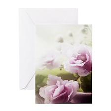 Violet ~Faithfully~ Greeting Card