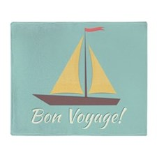 Bon Voyage! Throw Blanket