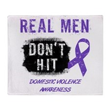 Domestic Violence Awareness Throw Blanket