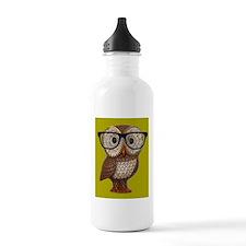 Hipster Owl Wearing Eyeglasses Nerd KItch Kawaii W