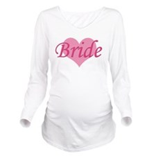 Bride Long Sleeve Maternity T-Shirt