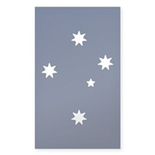 Southern Cross Stars Sticker (Rectangle 50 Pk)