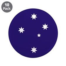 Southern Cross Stars 3.5&Quot; Button (10 Pack)