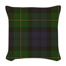 Gordon Tartan Woven Throw Pillow