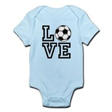 Love Soccer Body Suit