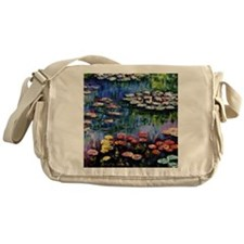 Monet Waterlilies Messenger Bag